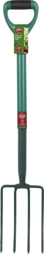 Ambassador Carbon Steel Digging Fork - Length: 98cm